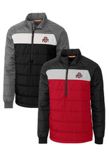 Cutter & Buck Ohio State Buckeyes Mens Thaw Pullover Jacket