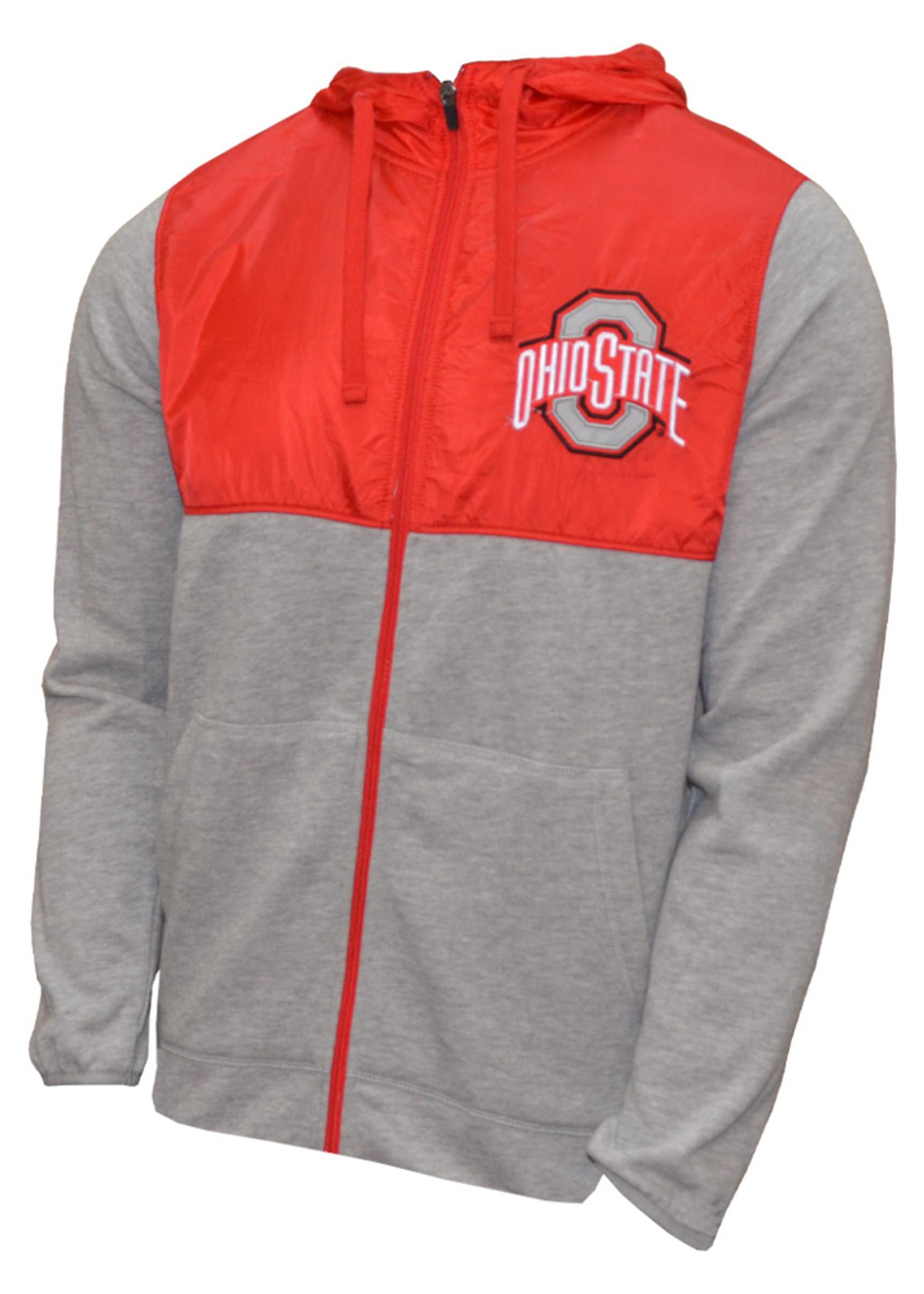 Ohio State Buckeyes Lightweight Hooded Jacket