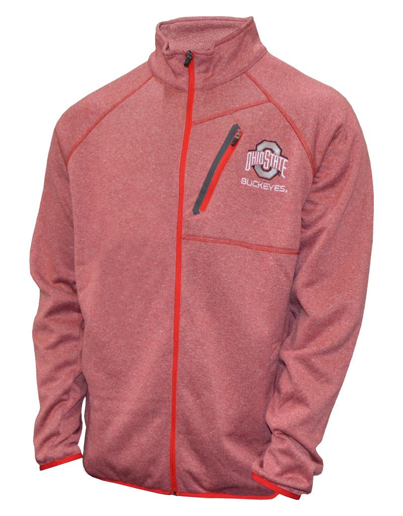 Ohio State Buckeyes Full Zip Jacket
