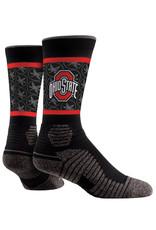 Ohio State Buckeyes Local Performance Athletic Crew Socks L/XL