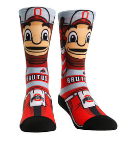 Ohio State Buckeyes HyperOptic Brutus Athletic Crew Socks
