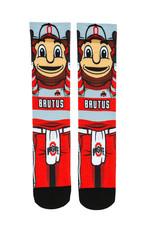 Ohio State Buckeyes HyperOptic Brutus Athletic Crew Socks