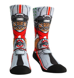 Ohio State Buckeyes Playmaker Athletic Crew Socks