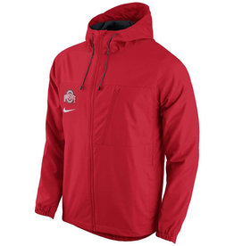 Nike Ohio State University AV15 Winger Full Zip Hoodie