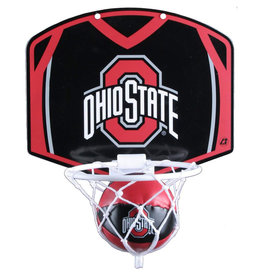 Ohio State Buckeyes Hoop & Ball Set