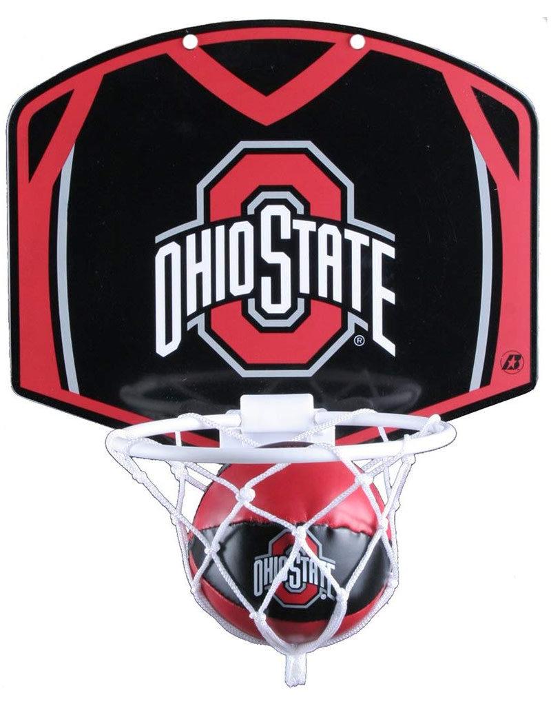 Ohio State Buckeyes Hoop & Ball Set