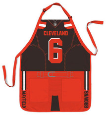 Cleveland Browns Baker Mayfield Jersey Apron