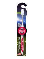 Ohio State Buckeyes Toothbrush - White