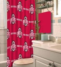 Ohio State University Decorative Shower Curtain