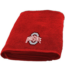 Ohio State Buckeyes 25'' x 50'' Applique Bath Towel