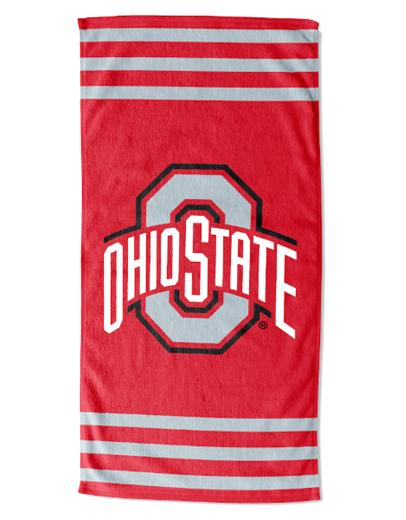 Ohio State Buckeyes Beach Towel