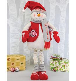 Ohio State Buckeyes Snowman Mascot