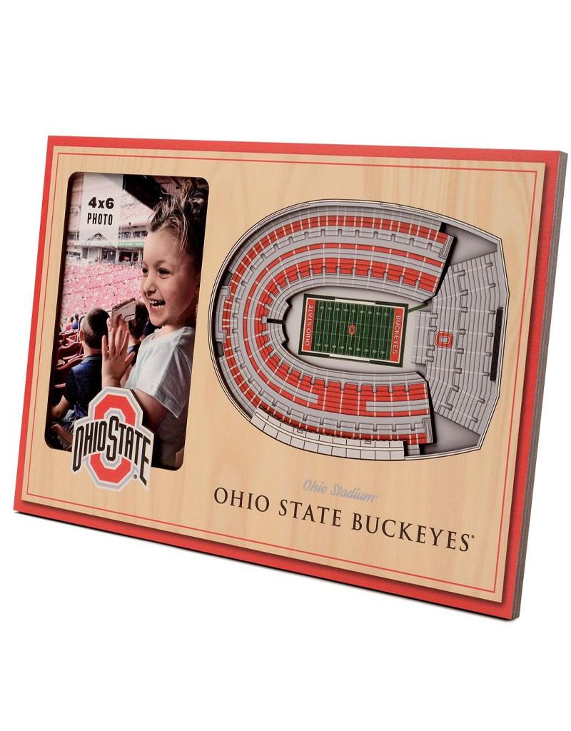 Ohio State Buckeyes 3D StadiumViews Picture Frame