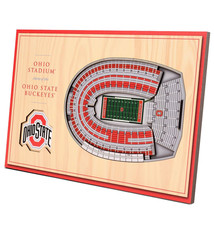 Ohio State Buckeyes 3D StadiumViews Desktop Display