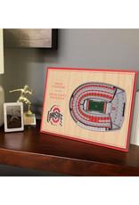 Ohio State Buckeyes 3D StadiumViews Desktop Display