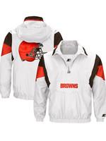 Cleveland Browns Starter White Thursday Night Lights Breakaway Jacket