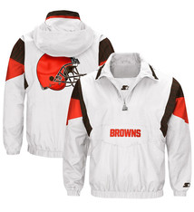 Starter Cleveland Browns Starter White Thursday Night Lights Breakaway Jacket
