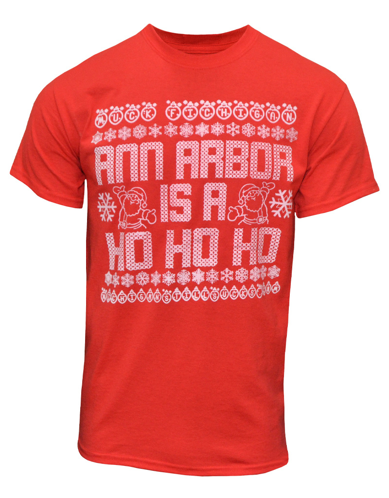 Ho Ho Ho Ugly Christmas Sweater T-Shirt