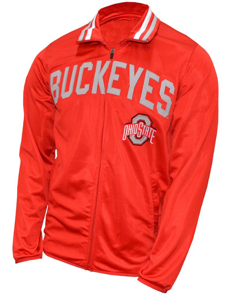 Ohio State Buckeyes Red Full-Zip Jacket