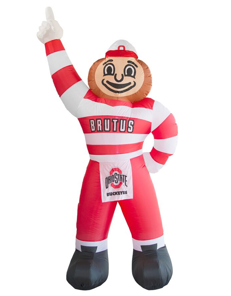 Ohio State Buckeyes 7ft LED Tall Inflatable Brutus