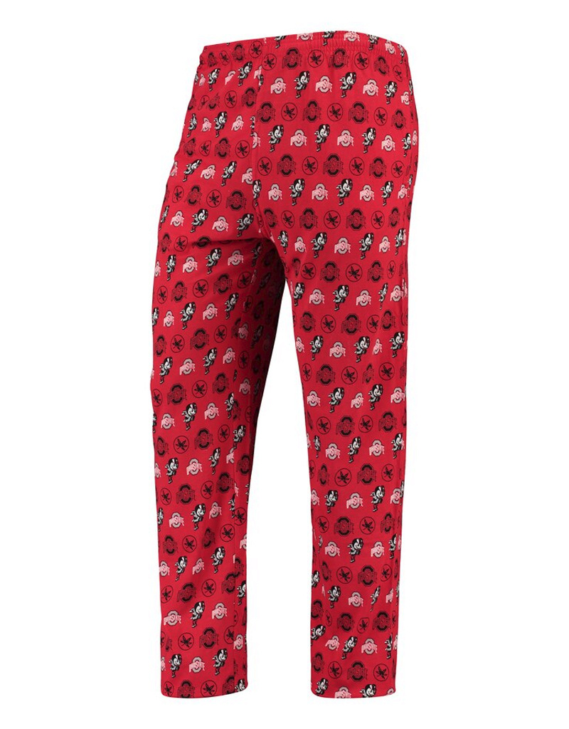 Ohio State Buckeyes Team Jersey Lounge Pants - Scarlet