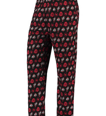 Ohio State Buckeyes Team Jersey Lounge Pants - Black