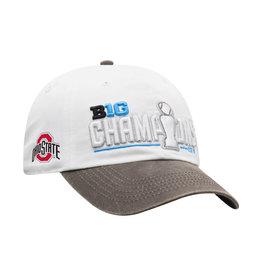 Ohio State Buckeyes 2019 Big Ten Football Champions Locker Room Adjustable Hat