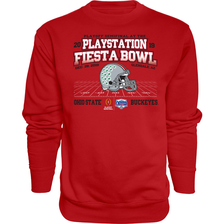 Ohio State Buckeyes 2019 Fiesta Bowl Bound Wheel Route Crew Sweatshirt