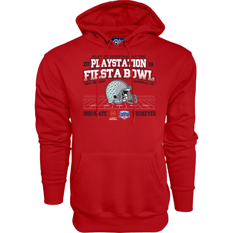 Ohio State Buckeyes 2019 Fiesta Bowl Bound Wheel Route Hoodie