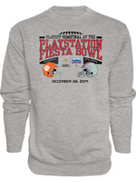 Ohio State Buckeyes vs. Clemson Tigers CFP 2019 Fiesta Bowl Crewneck Sweatshirt