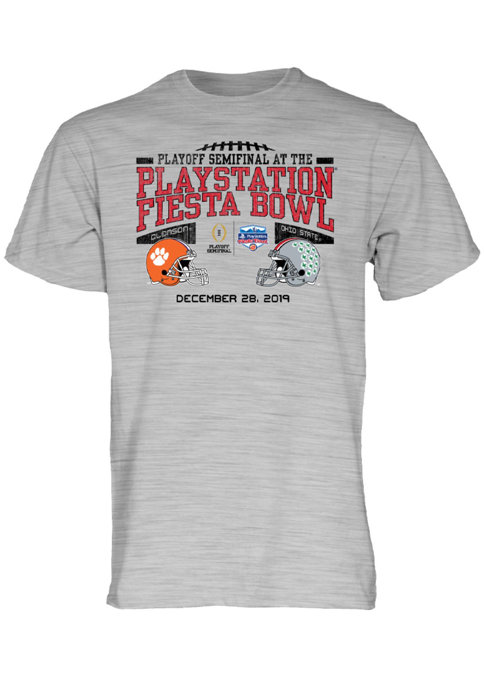 Ohio State Buckeyes vs. Clemson Tigers CFP 2019 Fiesta Bowl T-Shirt
