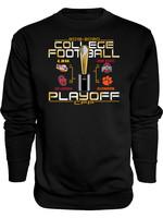 2019 College Football Playoffs 4 Team Crewneck Sweatshirt
