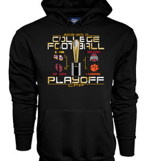 2019 College Football Playoffs 4 Team Hoodie