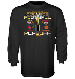 2019 College Football Playoffs 4 Team Long Sleeve