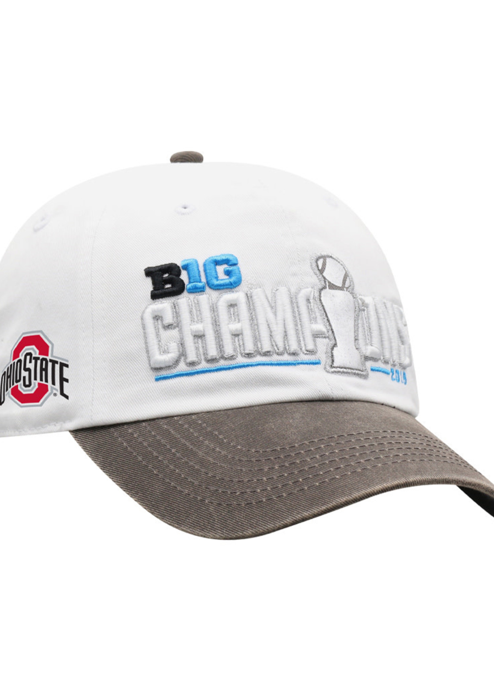 Ohio State Buckeyes 2019 Big Ten Football Champions Locker Room Adjustable Hat