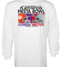 Dueling Helmets 2019 Fiesta Bowl Long Sleeve