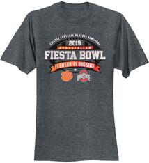 Fiesta Bowl 2019 Ohio State vs Clemson Logo Tee