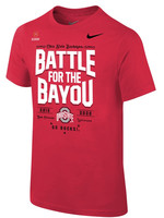 Nike Ohio State Buckeyes Youth 2019 College Football Playoff Bound Battle For The Bayou T-Shirt