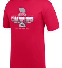 Top of the World Ohio State Buckeyes 2019 Big Ten Football Champions Locker Room T-Shirt