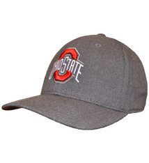 Top of the World Ohio State Buckeyes Alpha Charcoal Stretch Fit Hat