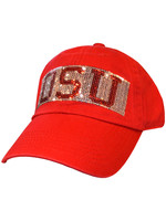 Top of the World Ohio State Buckeyes Womens Tinsel Adjustable Hat