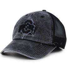 Top of the World Ohio State Buckeyes Ploom 1 Black Trucker Hat