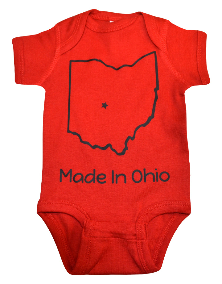 Made in Ohio Onesie