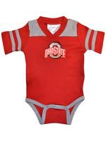 Ohio State Buckeyes Infant Football Creeper