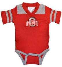 Ohio State Buckeyes Infant Football Creeper