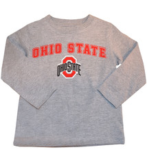 Ohio State Buckeyes Toddler Long Sleeve - Gray