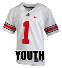 Ohio State Buckeyes Youth #1 Replica Game Jersey