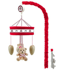 Ohio State Buckeyes Baby Crib Musical Mobile