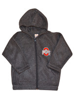 Ohio State Buckeyes Gray Toddler Arctic Fleece Jacket