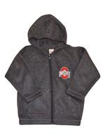 Ohio State Buckeyes Gray Toddler Arctic Fleece Jacket